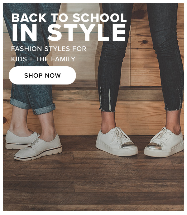 Back to School In Style Fashion styles for Kids + The Family